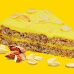Миндальный торт пекарни Марфа и Мария